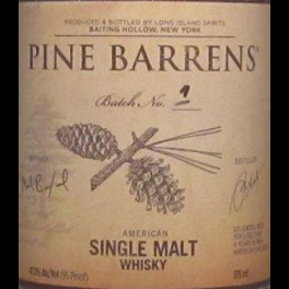 Pine Barrens US single malt